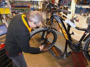 E-Bike reparatur Simma